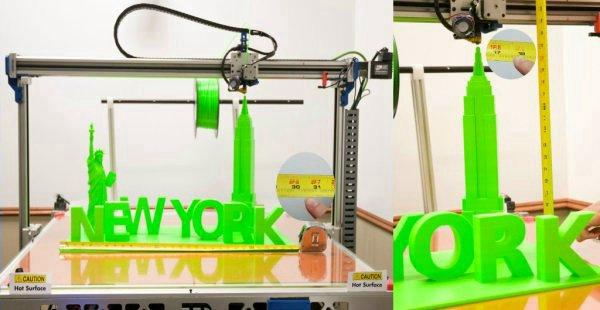 X1000 широкоформатный 3D принтер