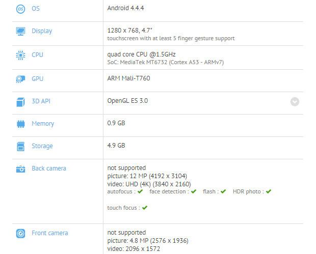 Meizu M1 Note Mini официально анонсирован
