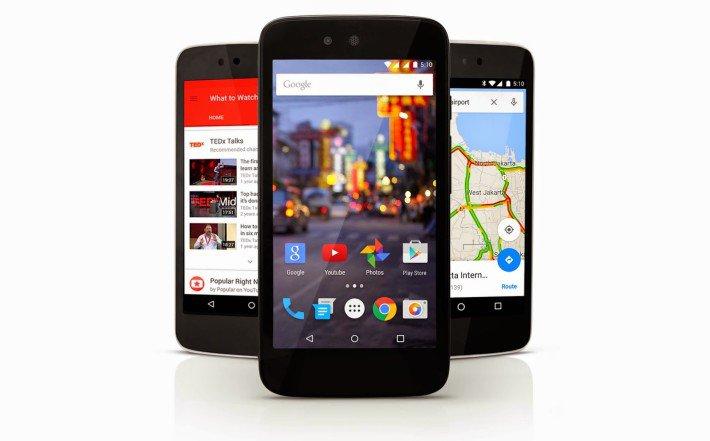 Android 5.1 заметили на одном из смартфонов Android One