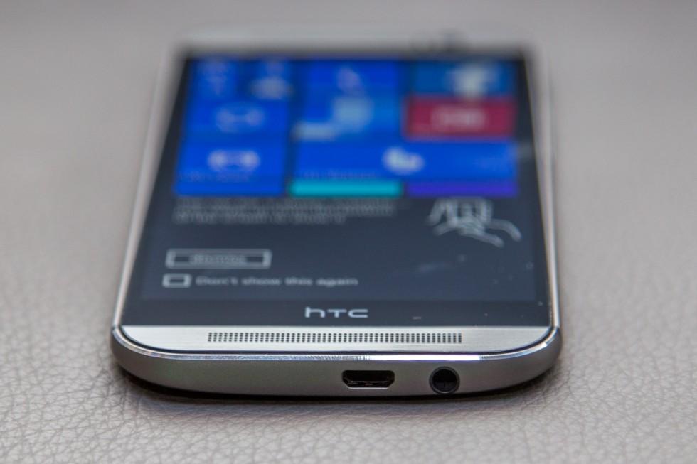 HTC выпустит версию флагмана One (M9) на базе Windows 10