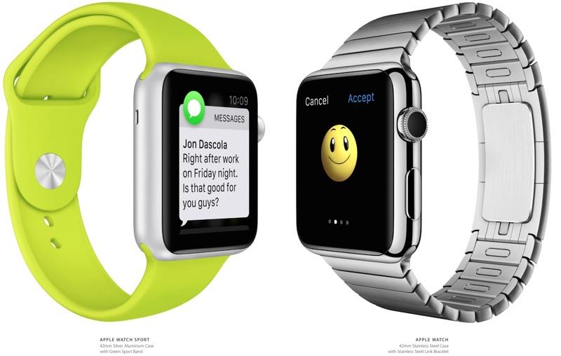 Поставки Apple Watch начнутся в апреле 2015 года
