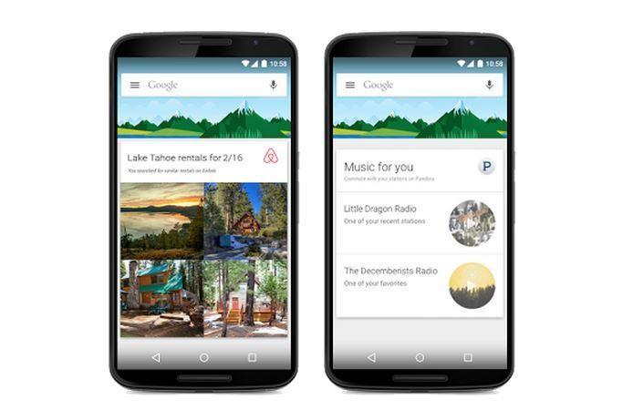 В голосовом ассистенте Google Now на Android появилась интеграция популярных приложений